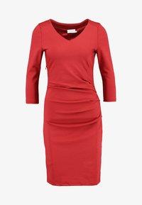 Kaffe - INDIA  - Shift dress - haute red - 5