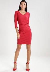 Kaffe - INDIA  - Shift dress - haute red - 2