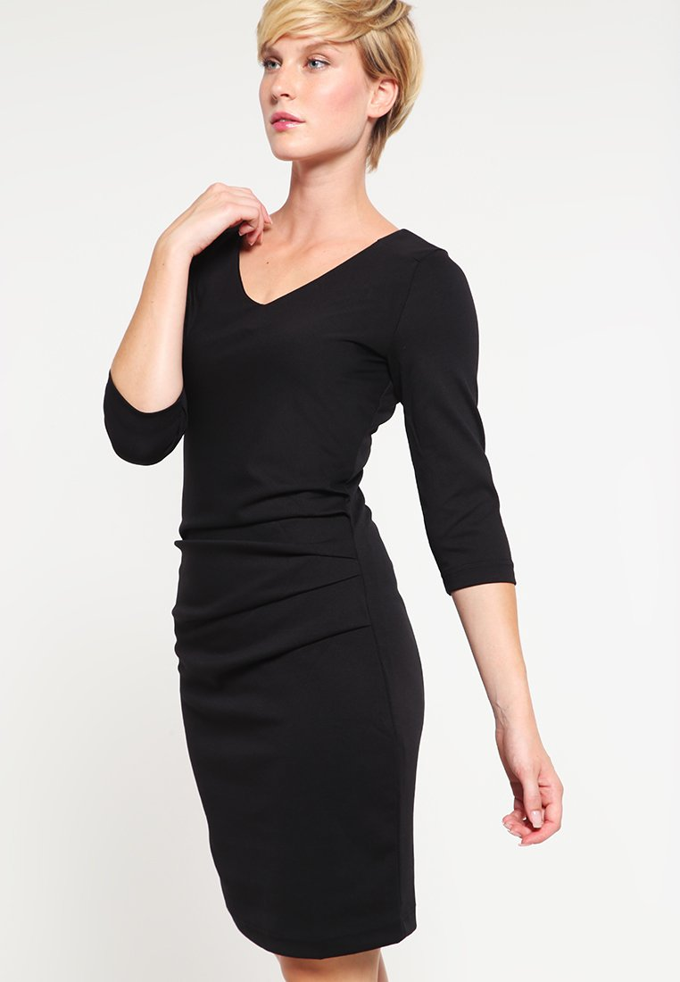 Kaffe - INDIA  - Shift dress - black deep