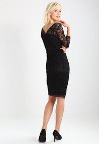 Kaffe - CLAUDIA  - Koktejlové šaty/ šaty na párty - black deep - 2