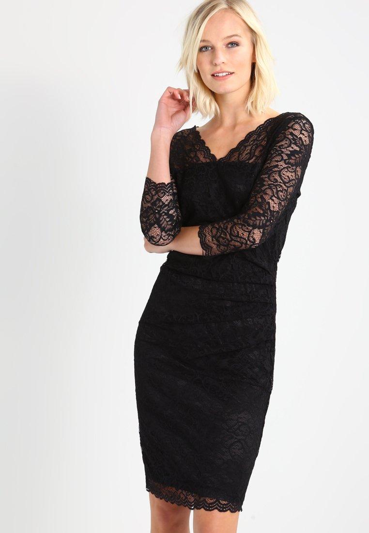 Kaffe - CLAUDIA  - Koktejlové šaty/ šaty na párty - black deep