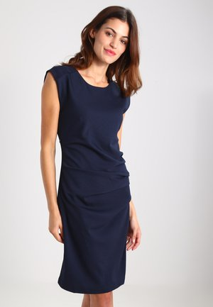 INDIA O NECK - Shift dress - midnight marine