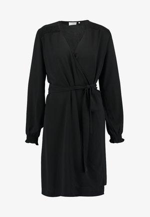 BLAKE WRAP DRESS - Kjole - black deep