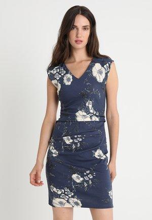 LIN INDIA DRESS - Etuikjole - vintage blue