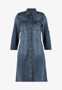 Cream - UNIFORM DRESS - Denim dress - royal navy blue - 5