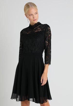 AXELINE DRESS - Cocktailjurk - black deep/silver