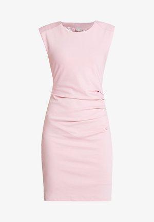INDIA ROUND NECK DRESS - Robe fourreau - pink nectar