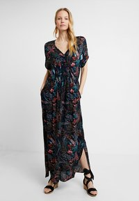 Kaffe - JENNIFER DRESS - Maxi-jurk - midnight marine - 0
