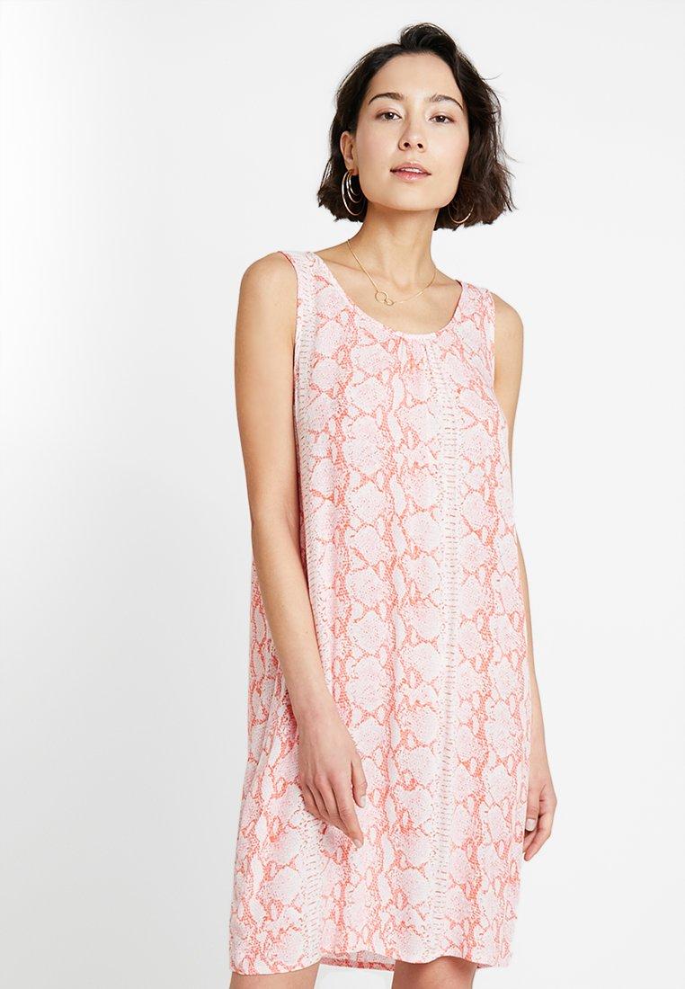 Kaffe - KAONA SLEEVELESS DRESS - Day dress - living coral