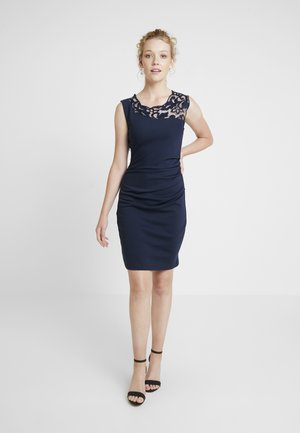 INDIA VIVI DRESS - Pouzdrové šaty - midnight marine