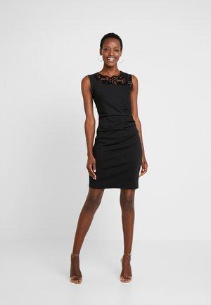 INDIA VIVI DRESS - Shift dress - black deep