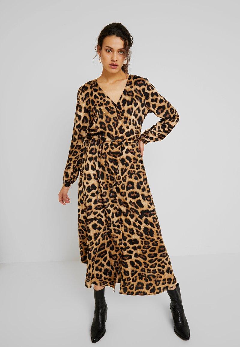 Kaffe - KAMARIE DRESS - Maxi dress - brown