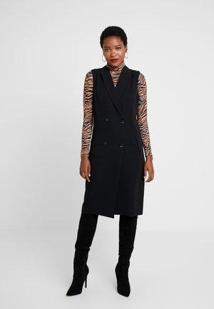 KAWASSI - Shift dress - black deep