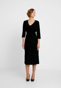Kaffe - KAJULITA DRESS - Cocktailjurk - black deep - 0