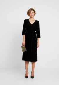 Kaffe - KAJULITA DRESS - Cocktailjurk - black deep - 2