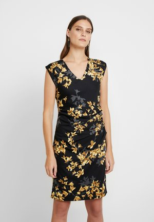 KATIE INDIA DRESS - Fodralklänning - black deep