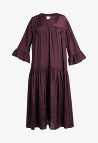 Kaffe - KATHEA 3/4 DRESS - Korte jurk - deep wine - 6