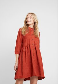 Kaffe - KACORINA - Shirt dress - picante - 0