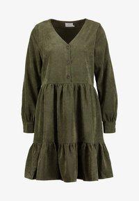 Kaffe - KACORINA DRESS - Korte jurk - grape leaf - 5