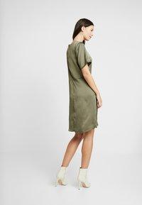 Kaffe - KAFOLDY DRESS - Day dress - grape leaf - 3