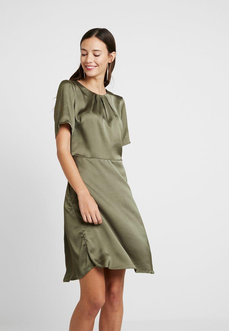 Kaffe - KAFOLDY DRESS - Day dress - grape leaf