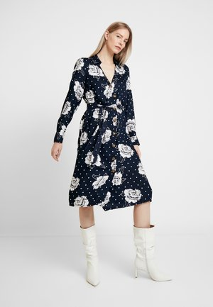 KAREES DRESS - Skjortekjole - midnight marine