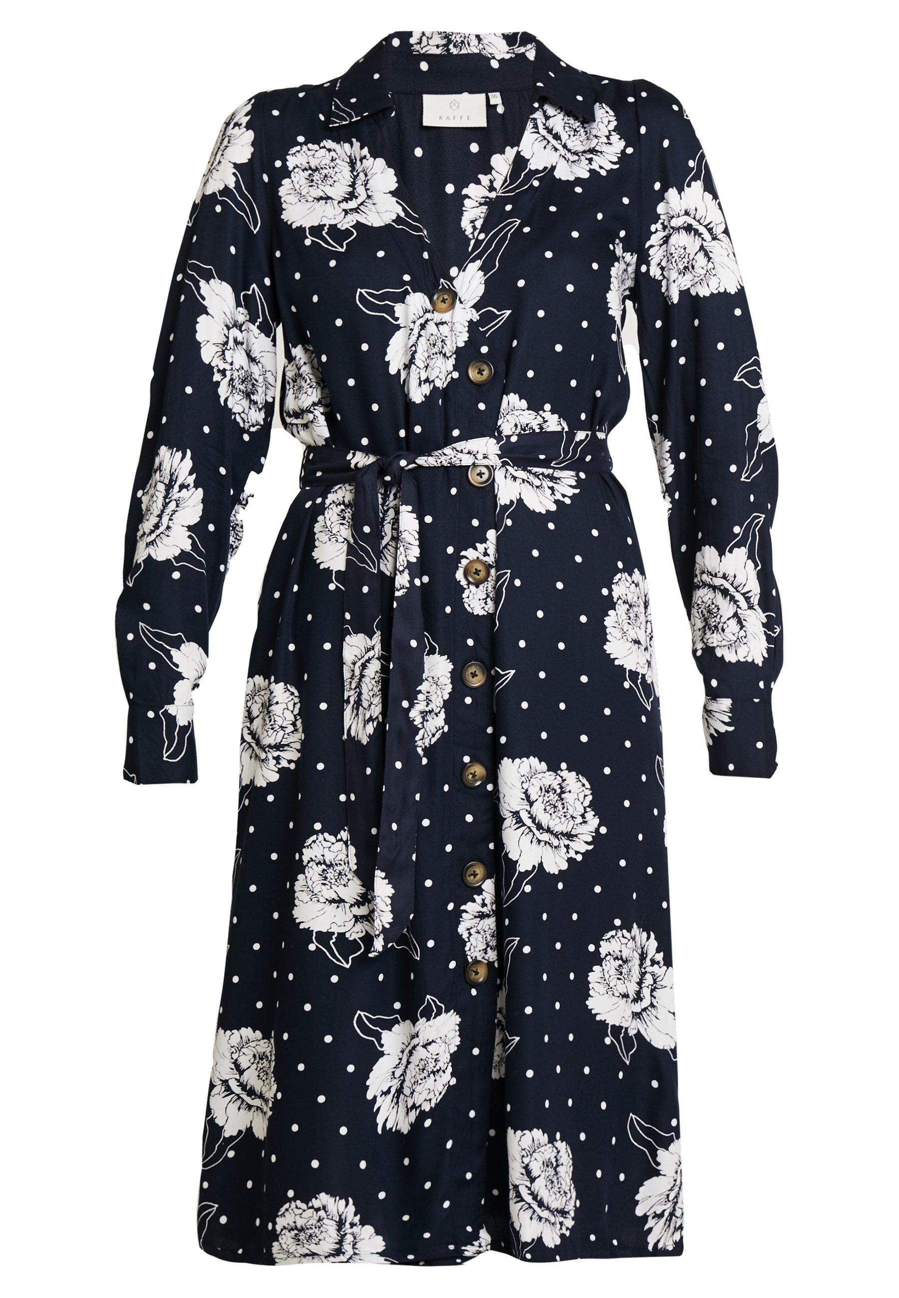 Kaffe KAREES DRESS - Sukienka koszulowa - midnight marine