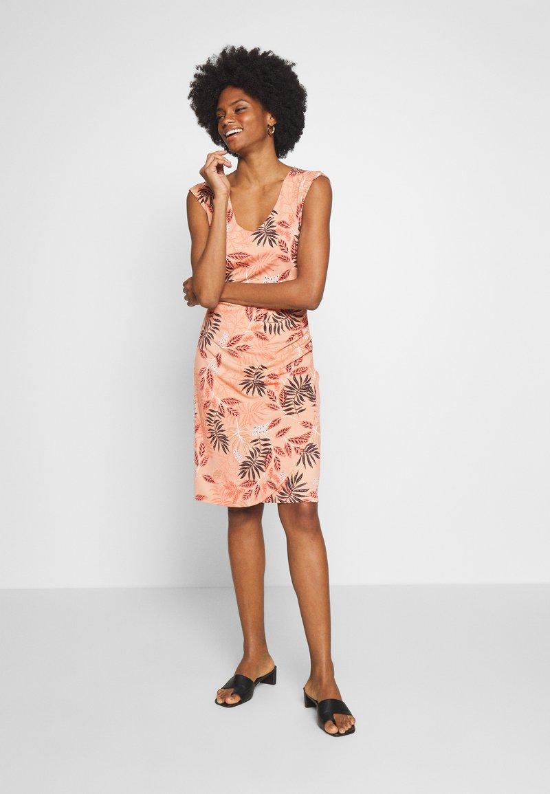 Kaffe - KAORVILLA DRESS - Jersey dress - roebuck