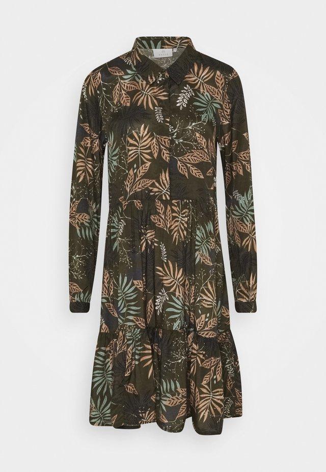BENITTE DRESS - Blousejurk - khaki