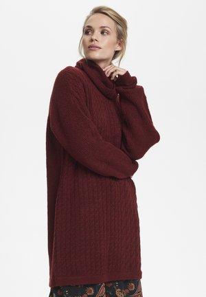 KAWENDY - Abito in maglia - red