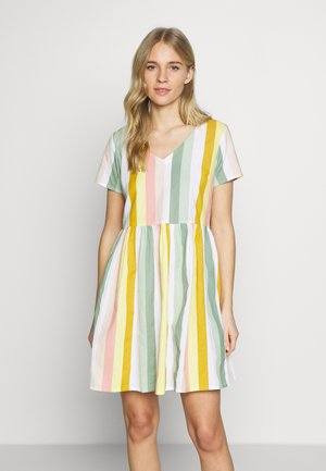 KAKRESTA DRESS - Korte jurk - red/green