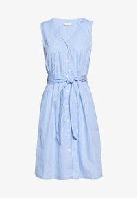 Kaffe - KAROXANNE DRESS - Blusenkleid - light blue - 0