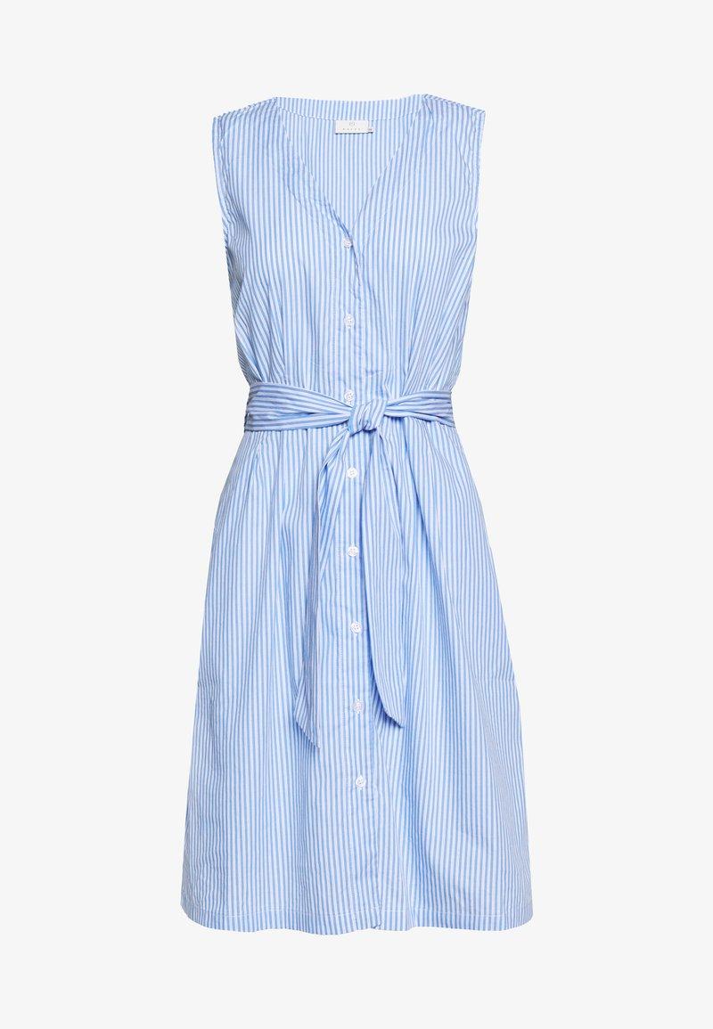 Kaffe - KAROXANNE DRESS - Blusenkleid - light blue
