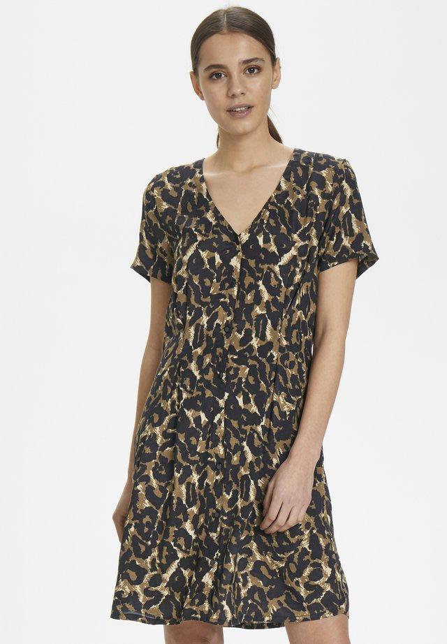 KALEONDRA DRESS - Blousejurk - ermine