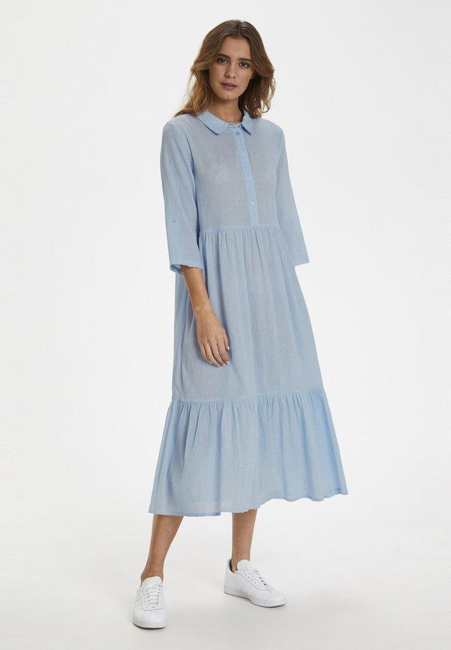 KAVIVIAN  - Skjortekjole - placid blue