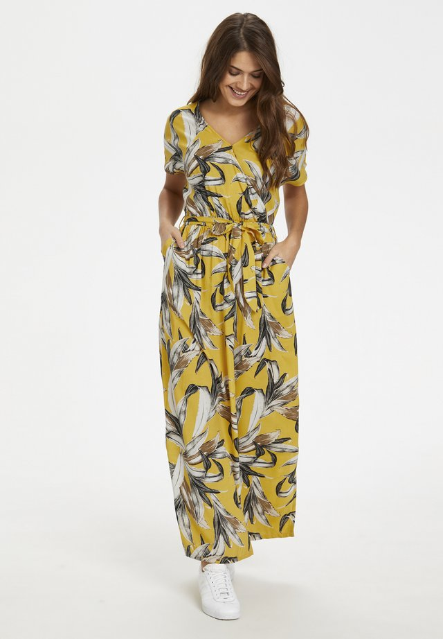 Maxi-jurk - yellow