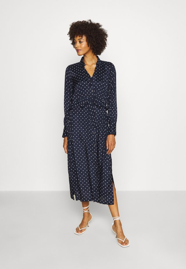 KAANNY DRESS - Shirt dress - midnight marine