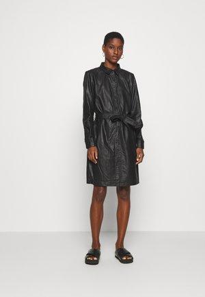 KALEANN DRESS - Abito a camicia - black deep