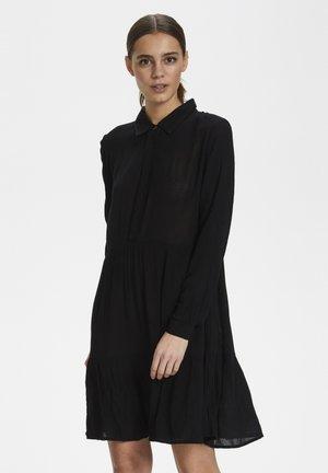 Skjortekjole - black deep
