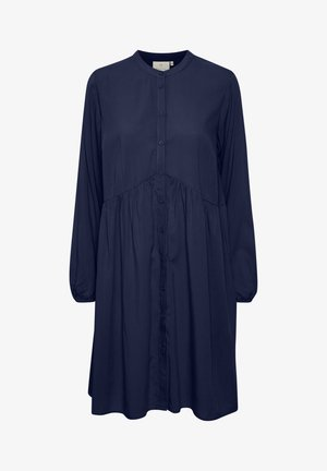 Shirt dress - midnight marine