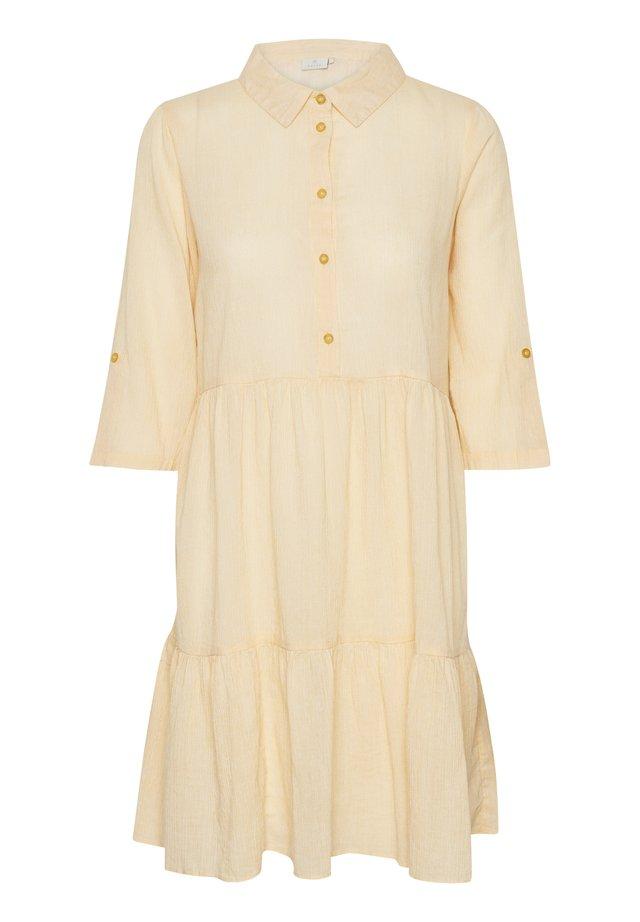 KAFFE KAVIVIAN DENIKE - Shirt dress - golden rod