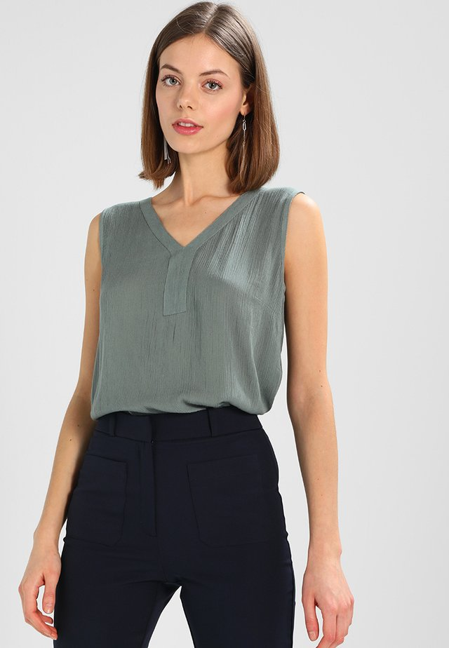 AMBER TOP - Blouse - dusty jade