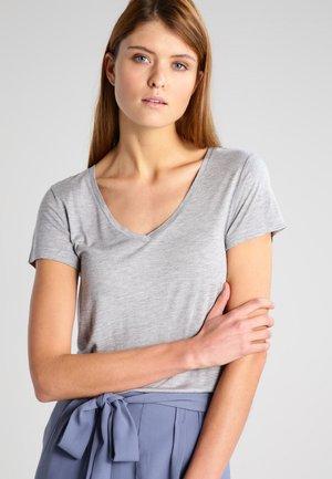 ANNA  - T-shirt basique - light grey melange