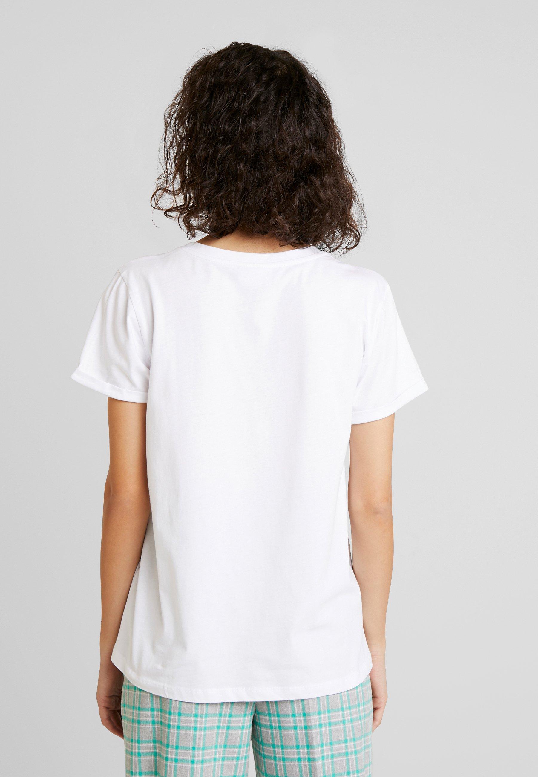 shirt White Optical WowT Imprimé Kaffe Jc3l1uTFK