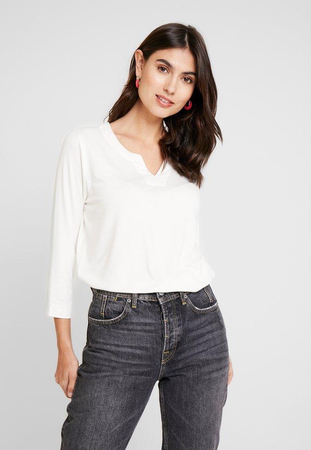 KAEVANA - T-shirt à manches longues - chalk