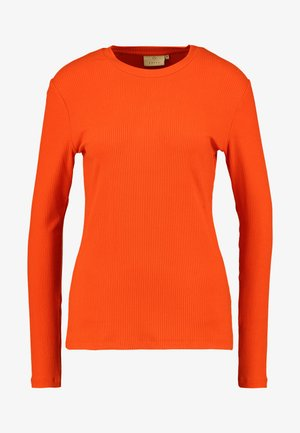 KALIA LONG SLEEVE - Long sleeved top - cherry tomato