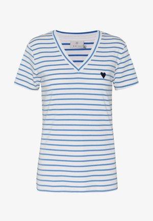 KALIDDY V-NECK  - T-shirt imprimé - chalk