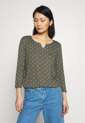 HAZEL  - Long sleeved top - grape leaf