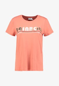 Kaffe - FARAH - T-shirts med print - dull orange - 3