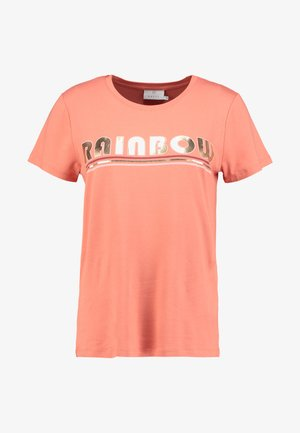 FARAH - T-shirts med print - dull orange
